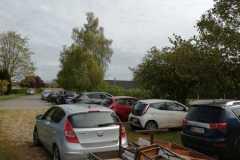 Arbejdsdag med mange biler