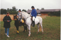 1989 - Lone Carlqvist/Nero og Mette Carlqvist/Bella. Bodil Danielsen overrækker præmier